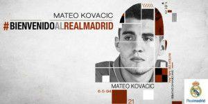 El Real Madrid se refuerza con Mateo Kovacic