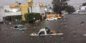 Se inunda Guadalajara