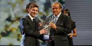 Messi elegido el mejor jugador de Europa