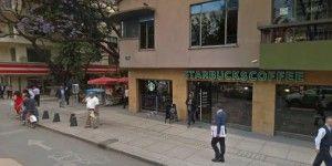 Detienen a extranjeros por robo en cafetería de la Zona Rosa