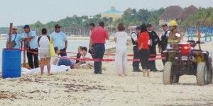 Rayo mata a dos adolescentes en Playa del Carmen