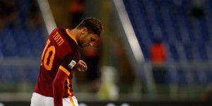 Francesco Totti también se lesionó este fin de semana