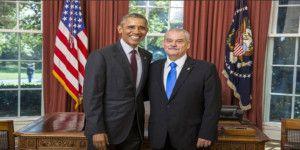 Embajador Basáñez presenta cartas credenciales a Obama