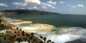 Mar de fondo obliga a cerrar los puertos de Acapulco y Zihuatanejo