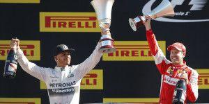 Lewis Hamilton se impone en el Gran Premio de Italia