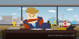 Hacen sátira de Donald Trump en South Park