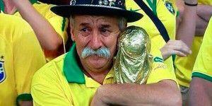 Muere el más grande seguidor de la Selección Brasileña
