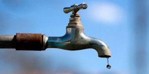 Anuncian corte de agua en 13 delegaciones