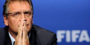 FIFA extiende suspensión de Valcke por 45 días más