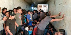 Rescata INM a 150 migrantes en Zacatecas