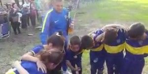 Video: niño motiva a representativo de Boca Juniors
