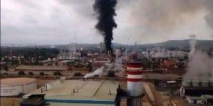 Incendio en refinería de Tula está controlado