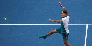 Federer sorprende en su estreno en el US Open