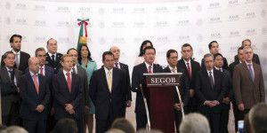 Roque Villanueva y Arturo Escobar llegan a la SEGOB