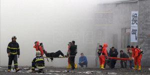 Hospitalizados 190 en simulacro de incendio en China