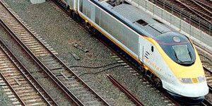 Migrantes bloquean vías del Eurostar