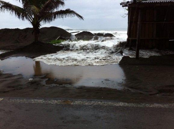Huracán en Bahía de Banderas. Foto de Noroeste