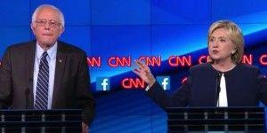 Debaten los 5 aspirantes demócratas a la Casa Blanca