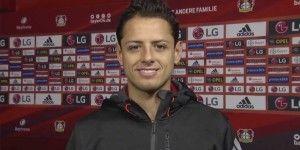 Chicharito presenta cuenta en español del Leverkusen