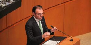 Comparecencia de Luis Videgaray en el Senado