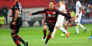 Chicharito llega a 101 goles en su carrera