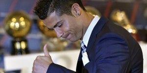 Homenaje del Real Madrid a Cristiano Ronaldo