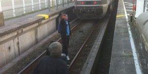 Migrantes detienen trenes en Francia y Reino Unido