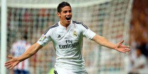 James Rodríguez se recupera a tiempo para el Clásico de Madrid