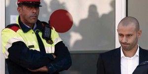 Mascherano admite fraude de 1.5 millones de euros