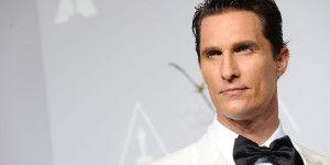 Matthew McConaughey se queda calvo