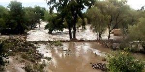 Lluvias de Patricia obligan a desfogar presa en Aguascalientes