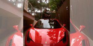 El nuevo Ferrari de Neymar