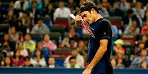 Federer fuera del Masters de Shanghái en primera ronda