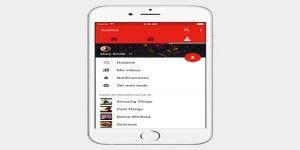 YouTube rediseña app para iOS