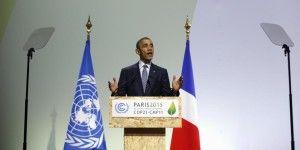 Obama reconoce responsabilidad de EE.UU. en cambio climático
