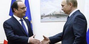 Francia y Rusia pactan coordinación global frente al Estado Islámico