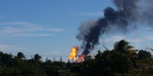 Al menos 41 heridos por explosión en refinería de Pemex