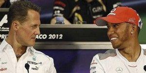 Lewis Hamilton criticó a Michael Schumacher