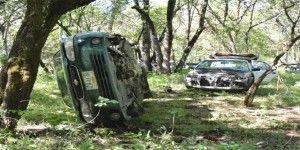 Policías detectan banda de robacoches en reserva ecológica de Morelos