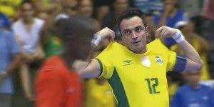 Video: golazo de Falcao, estrella de futbol sala