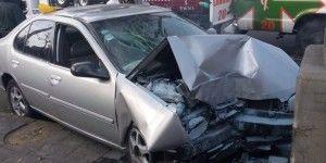 Muere mujer tras chocar contra poste en La Viga