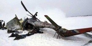 Mueren 10 en caída de helicóptero ruso en Siberia
