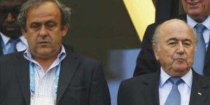 FIFA mantiene suspensiones a Blatter y Platini