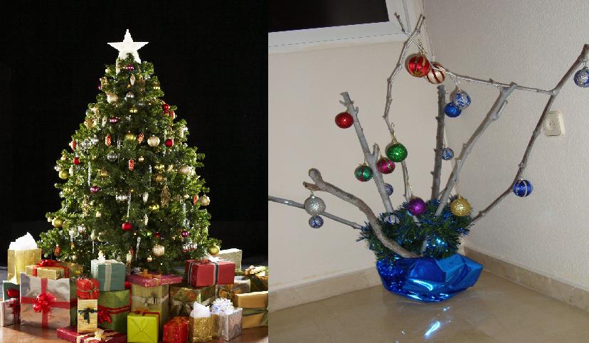 Worksheet. Estas son 30 ideas ingeniosas para rboles de Navidad en poco espacio
