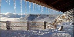Por nevadas declaran emergencia en Sierra Tarahumara