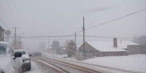Nevadas continuarán por frente frío 24