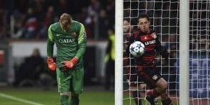 Eliminan al Bayer de la Champions pese a gol de Chicharito