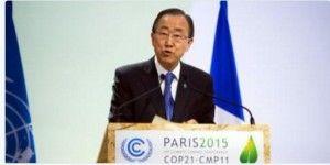 """Ban Ki-moon exhorta a lograr """"ambicioso"""" acuerdo climático"""