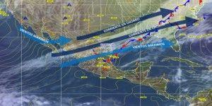 Frente frío 17 favorecerá descenso de temperatura y lluvias