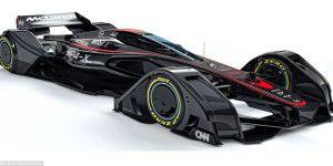 McLaren presenta prototipo que se maneja con la mente